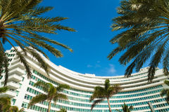 Fontainebleau Hotel Royalty Free Stock Photo