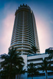 The Fontainebleau Hotel in Miami Beach, Florida. Stock Photography