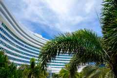 Fontainebleau Hotel Royalty Free Stock Photography