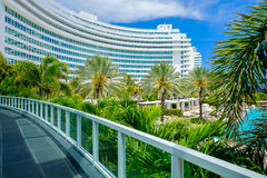 Fontainebleau Hotel Stock Image