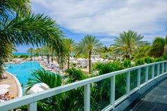 Fontainebleau Hotel Stock Image