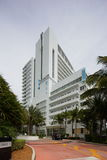 Fontainebleau Hotel Sorrento building miami Beach Royalty Free Stock Photo