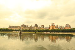 Fontainebleau palace Stock Photography