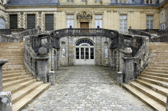 Fontainebleau palace Stock Photos