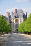 Fontainebleau Palace - The Porte Doree Royalty Free Stock Photos