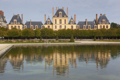Fontainebleau slott Arkivbild