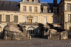 Fontainebleau slott, Seine et marne Royaltyfria Bilder
