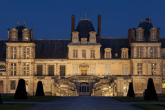Fontainebleau slott Royaltyfria Bilder