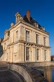 Fontainebleau slott Arkivfoto
