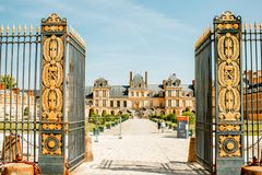Free Fontainebleau With Famous Staircase In France Royalty Free Stock Photography - 128062837