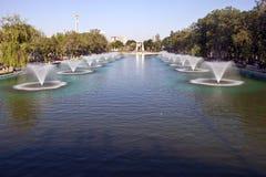 Fontaines à Ankara Image libre de droits