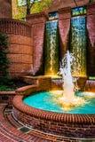 Fontaines à Lancaster du centre, Pennsylvanie photo stock
