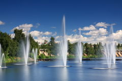 Fontaines Images libres de droits