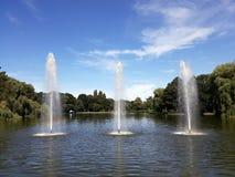 Fontaines artésiennes décoratives photos libres de droits