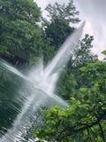 Fontaines d'eau image stock