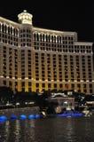 Fontaines d'hôtel et de casino de Bellagio à Las Vegas Photographie stock libre de droits