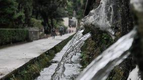 Fontaines dans Tivoli images libres de droits