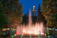Fontaines de chant à Kosice images stock