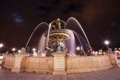 Fontaines de la Concorde in Paris, France Royalty Free Stock Photos