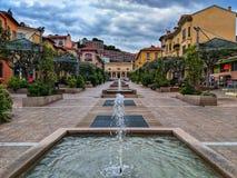 Fontaines de Menton photos libres de droits