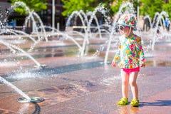 Fontaines de plaza image libre de droits