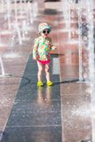 Fontaines de plaza photo stock