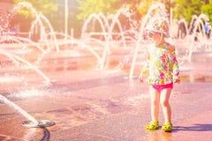 Fontaines de plaza images libres de droits