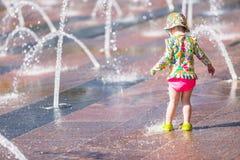 Fontaines de plaza photos stock