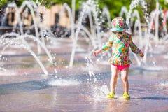 Fontaines de plaza photo libre de droits