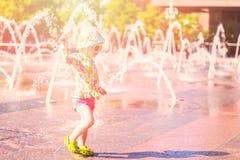 Fontaines de plaza photographie stock libre de droits