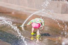 Fontaines de plaza photos libres de droits