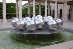 Fontaines De Polityk Zakopujący oficjalnie zna jako Sphérades Obraz Stock