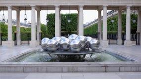 Fontaines De Polityk Zakopujący oficjalnie zna jako Sphérades Zdjęcia Stock