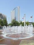 Fontaines de stationnement olympique d'Atlanta Photo libre de droits