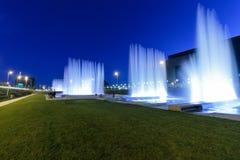 Fontaines de Zagreb photo libre de droits