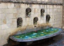 Fontaines du luxembourgeois photographie stock libre de droits