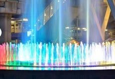 Fontaines légères Photos stock