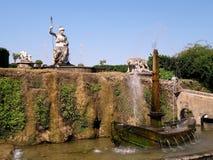 Fontaines, villa D'Este, Tivoli, Italie image stock