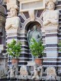 Fontaines, villa D'Este, Tivoli, Italie photographie stock libre de droits