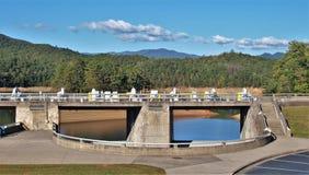 Fontana水坝 库存图片