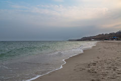 14 fontana海滩在傲德萨 图库摄影
