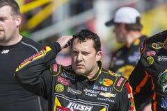 NASCAR 2013年: Sprint杯系列汽车俱乐部3月400日24日 库存图片
