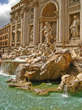 Fontana 03 di Trevi Fotografia Stock