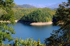 fontana湖 库存图片