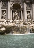 Fontana 2 di Trevi Fotografia Stock