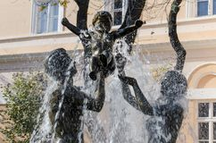 Fontana Immagini Stock Libere da Diritti