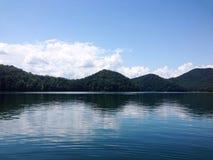 fontana湖 库存照片