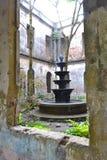 Fontana abbandonata Fotografia Stock Libera da Diritti