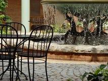 Fontana ai giardini Fotografia Stock