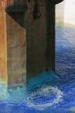Fontana alla missione Carmel Immagine Stock Libera da Diritti